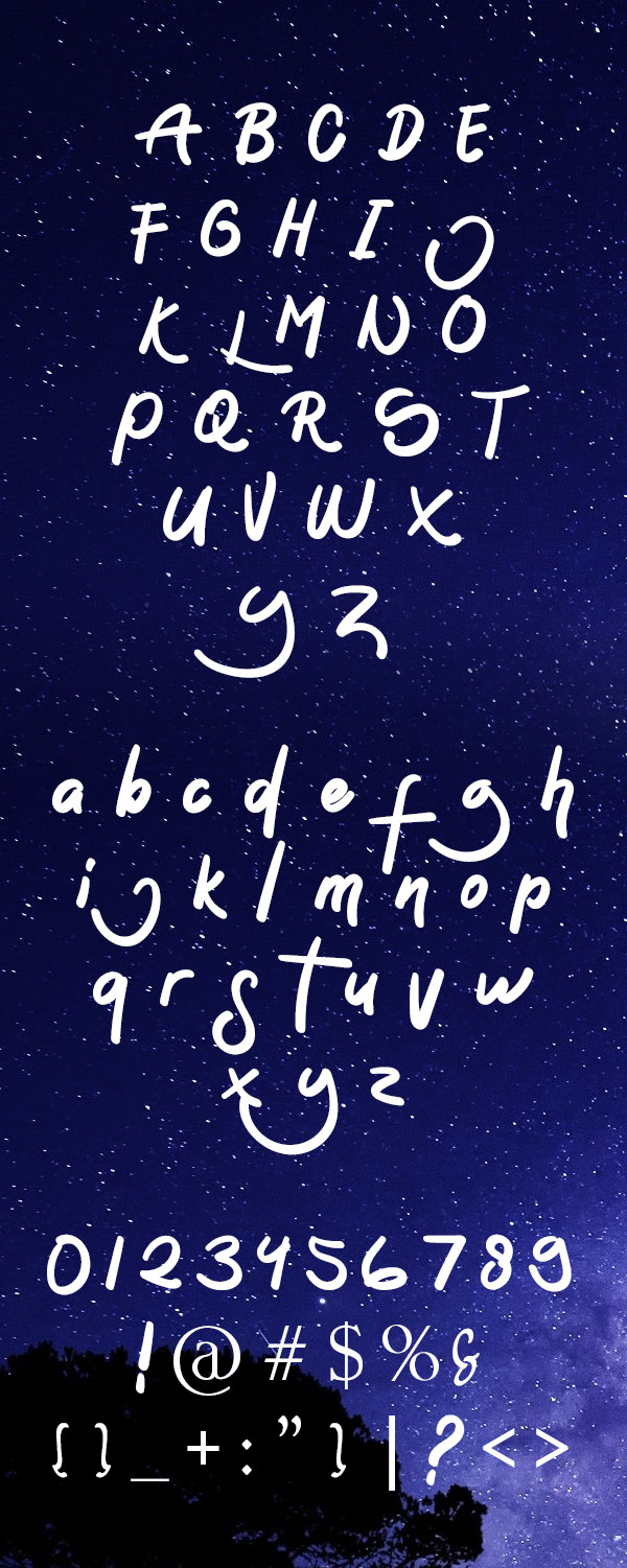Sontoloyo Font and Letters