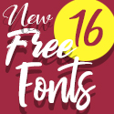 Post Thumbnail of 16 New Beautiful Free Fonts for Graphic Designers