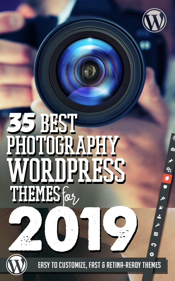 35 Best Photography WordPress Themes for Photographer