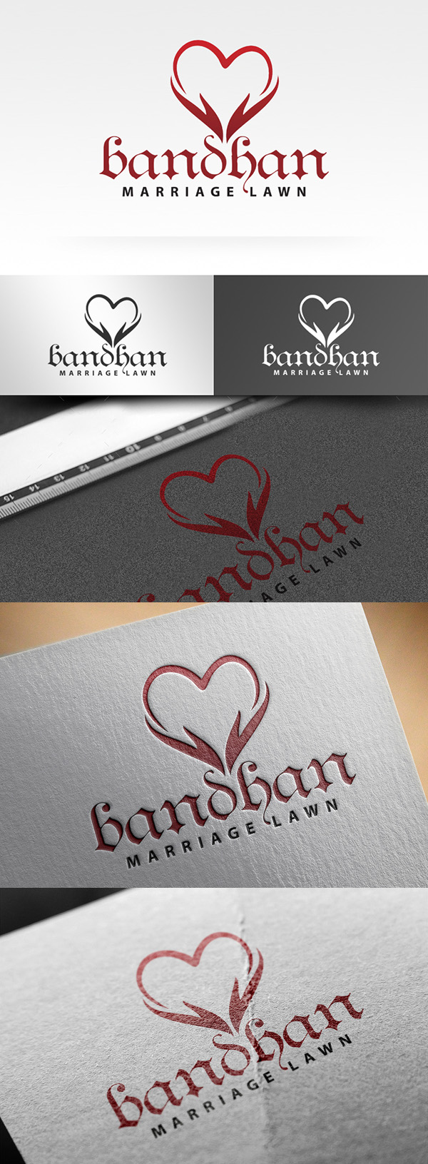 Freebies for 2019: Freebie: Wedding Logo Template (PSD)
