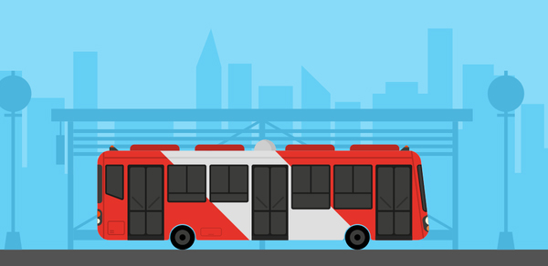 Learn How to Create Flat Style Bus in Adobe Illustrator
