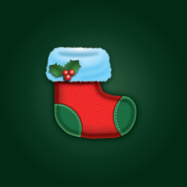 Create a Cute Christmas Sock in Adobe Illustrator