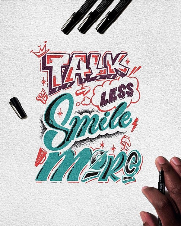 Fresh Remarkable Lettering and Typography Design for Inspiration - 14