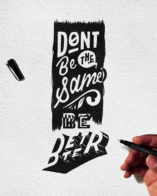 Fresh Remarkable Lettering and Typography Design for Inspiration - 15