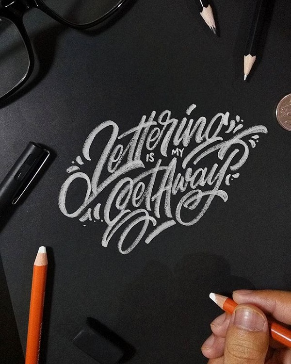 Fresh Remarkable Lettering and Typography Design for Inspiration - 23