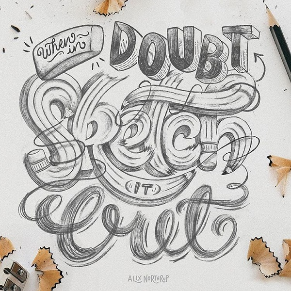 Fresh Remarkable Lettering and Typography Design for Inspiration - 5