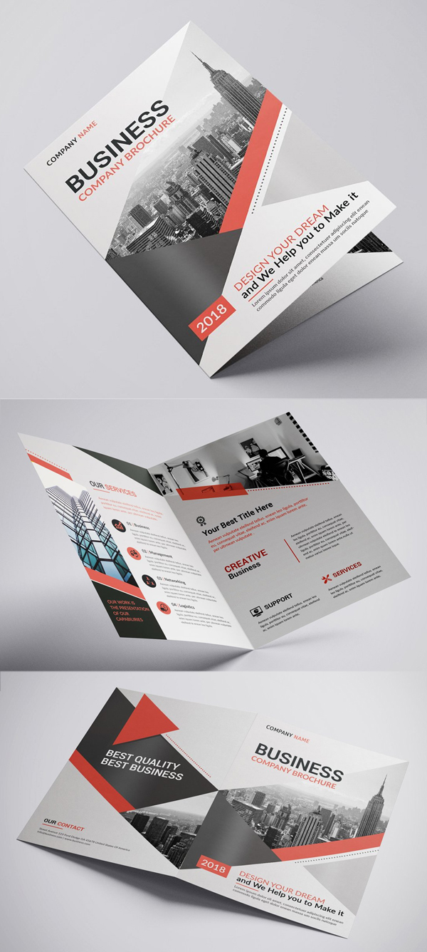 Voyd - Business Bifold Brochure
