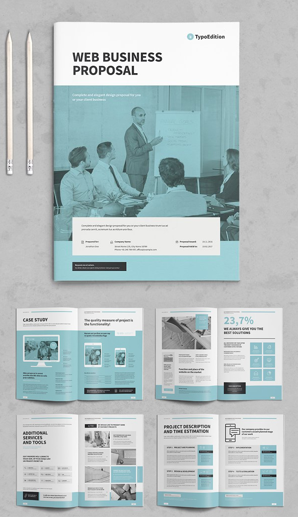 Elegant Business Proposal Brochure