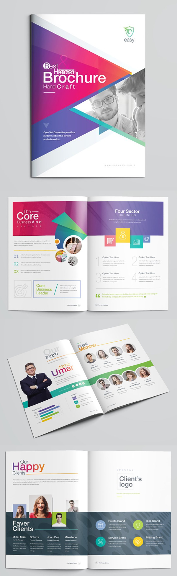 Brochure Catalog Templates 2019 | Design | Graphic Design