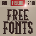 Post Thumbnail of 20 New Free Fonts For 2019