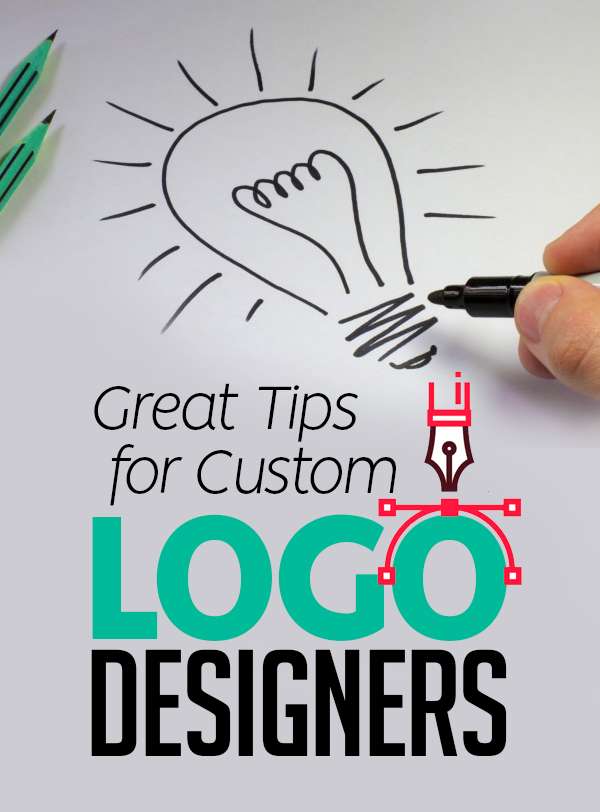 10 Great Tips for Custom Logo Designers
