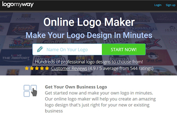 New Logo Maker by LogoMyWay
