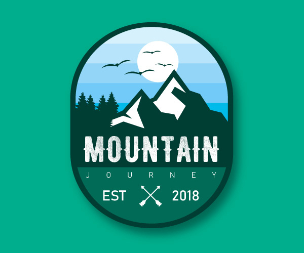 Mountain Journey Logo Design
