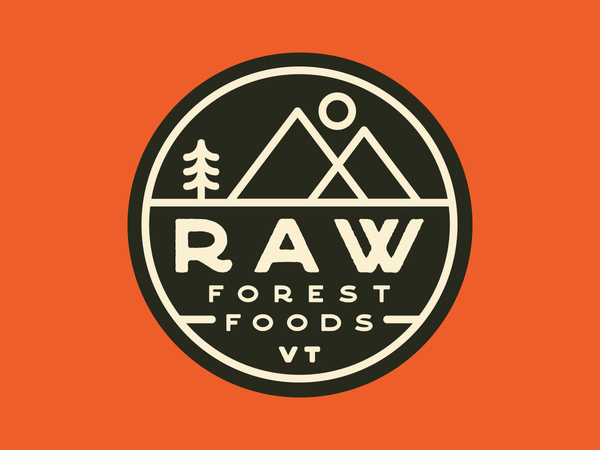Raw Forest Foods Sticker