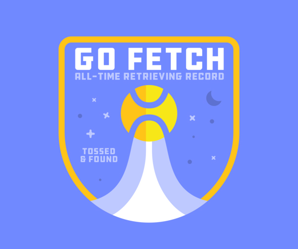 Go Fetch Badge Logo