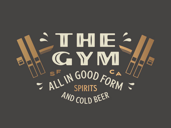 The Gym Logo Design