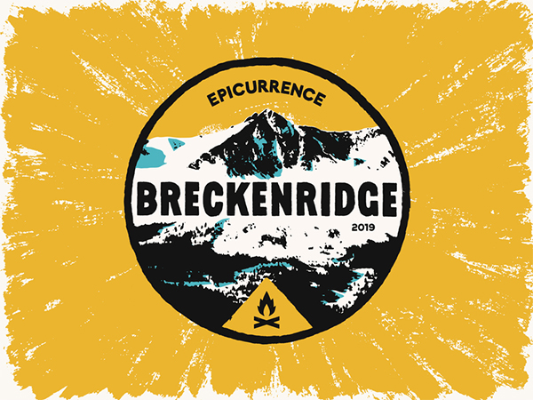 Epicurrence Breckenridge Badge