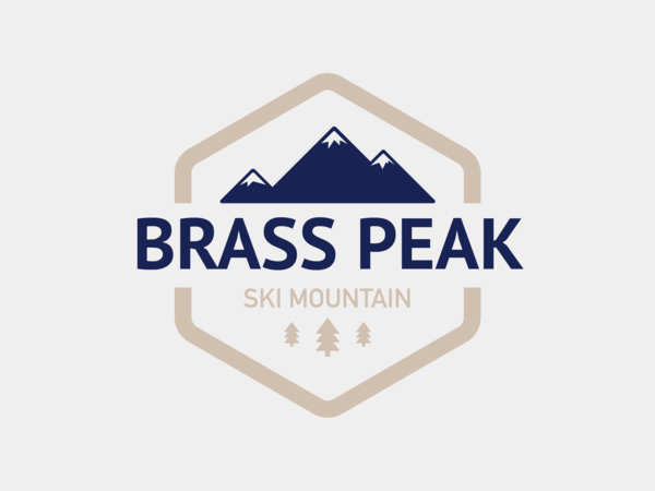 Brass Peak Ski Mountain Logo