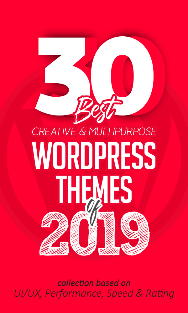 30 Best Creative Multipurpose WordPress Themes Of 2019