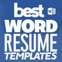 Post Thumbnail of 30 Best Word Resume Templates