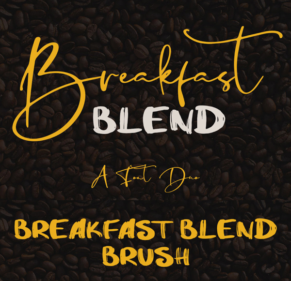 Breakfast Blend Brush Free Font