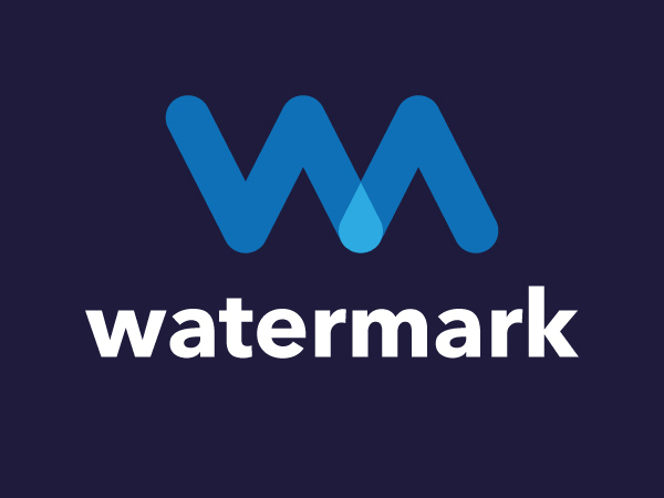 Watermark Logo Design