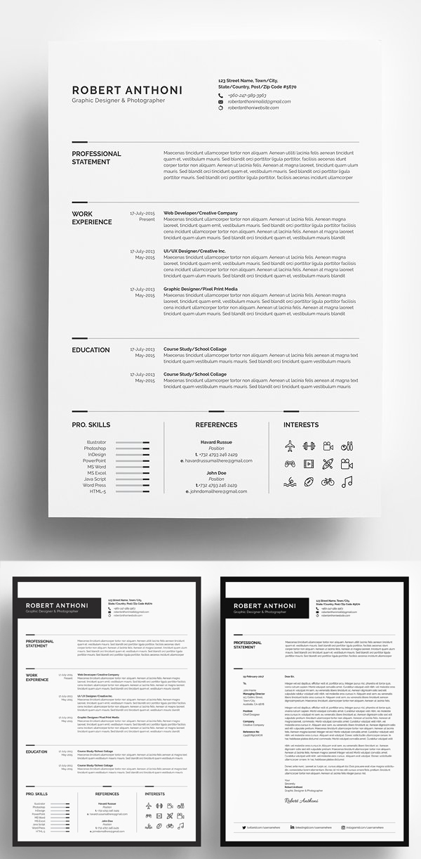 High Class & Professional Resume Template