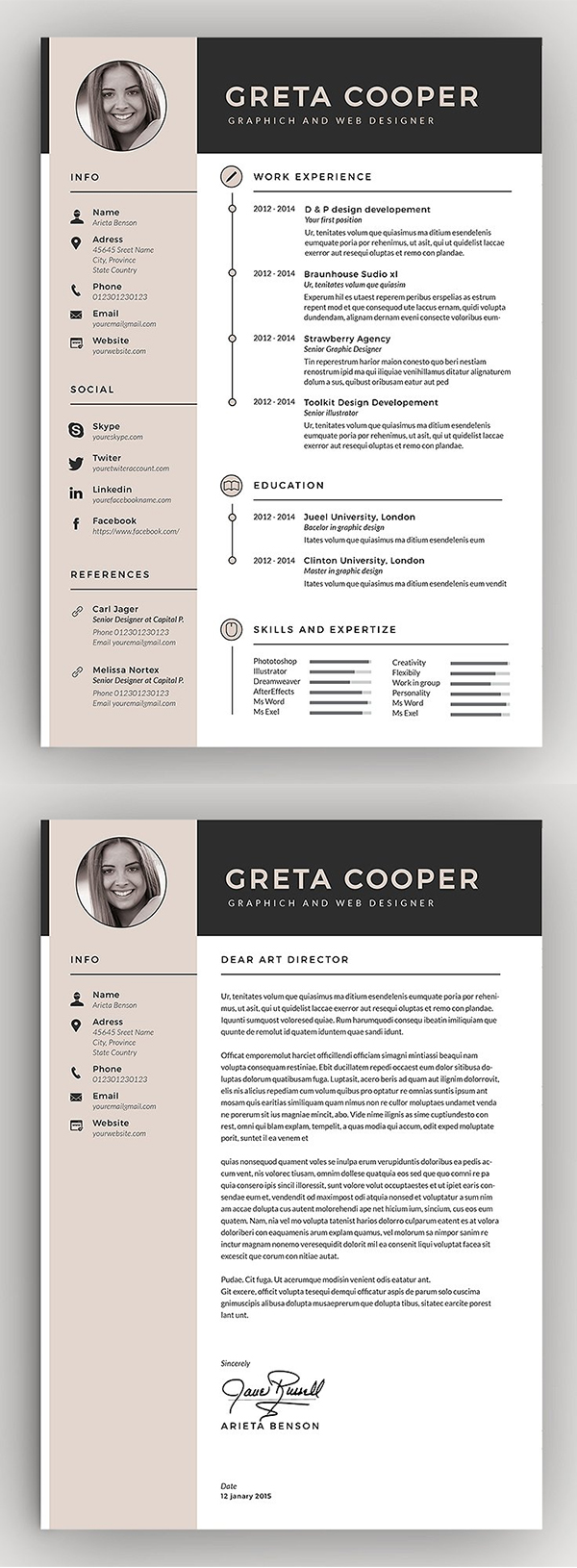 Awesome Resume / CV