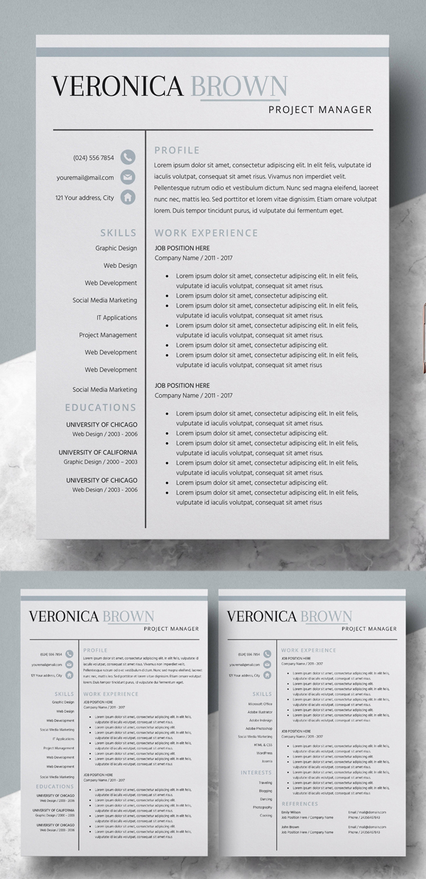 Resume | CV Template + Cover Letter