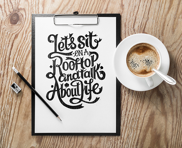30 Remarkable Lettering and Typography Design for Inspiration - 2