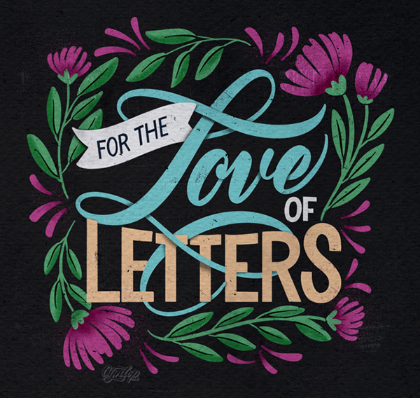 30 Remarkable Lettering and Typography Design for Inspiration - 20