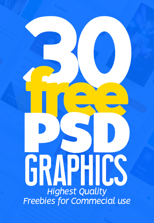 Free PSD Files: Download 30 Fresh Free PSD Graphics for Amazing UI