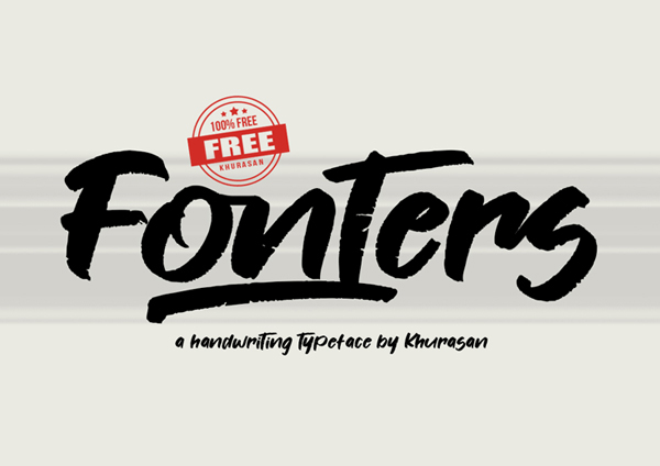 100 Greatest Free Fonts for 2020 - 37