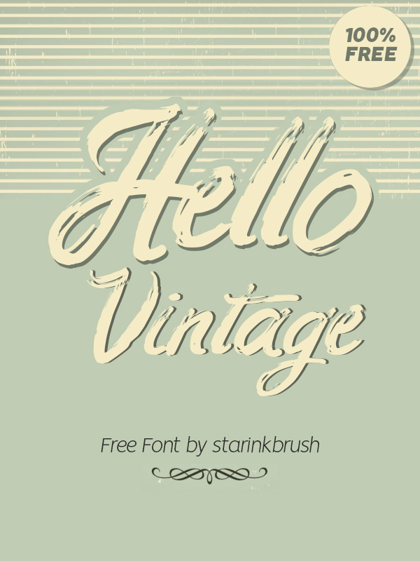 100 Greatest Free Fonts for 2020 - 33