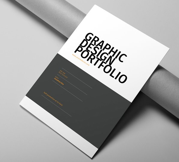 Persnickety image regarding printable portfolio