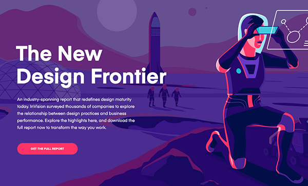 Web Design Trends 2019 - Example  7