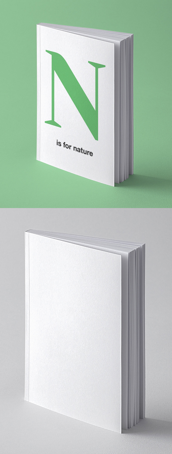 Free Book Perspective Mockup Template