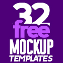 Post Thumbnail of Free Mockups: 32 Useful Realistic Photoshop Mockup Templates