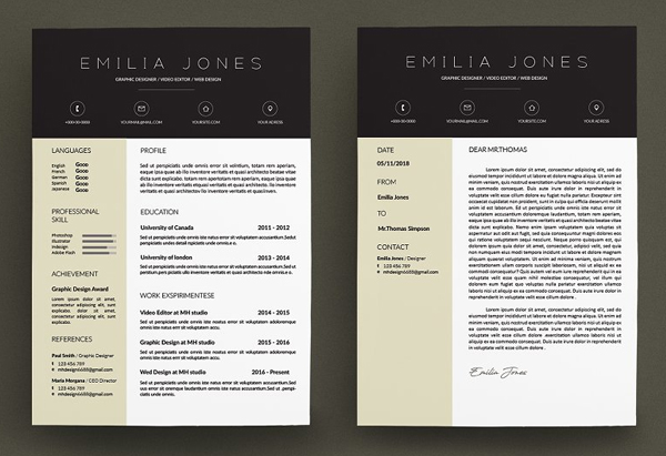 Fresh & Professional Resume Template