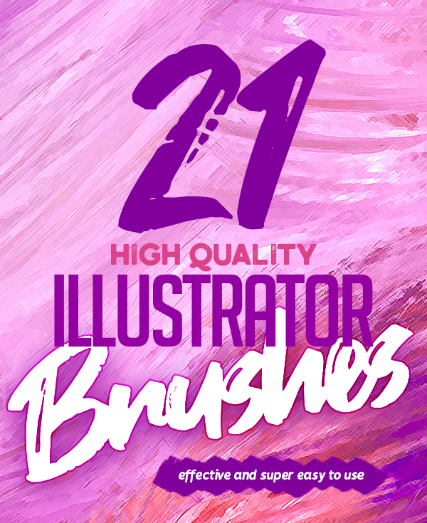 21 High Quality Illustrator Brushes | Vector | Graphic