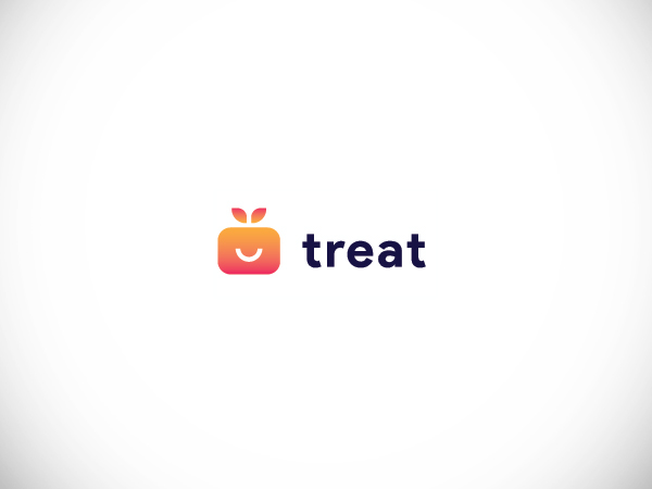 Treat App - Logo Concept by Dewi Puspitasari