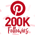 Post Thumbnail of Celebrating 200,000 Pinterest followers