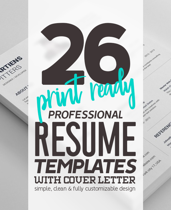 Professional Resume That Will Transform Your Job Application