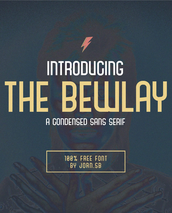 The Bewlay Free Font Design