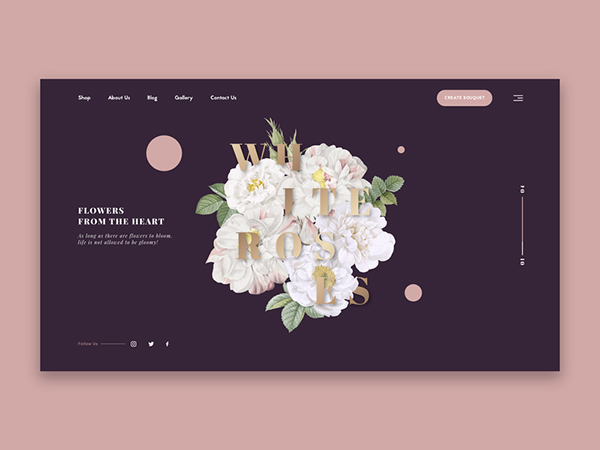 50 Modern Web UI Design Concepts with Amazing UX - 25