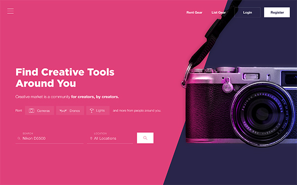 50 Modern Web UI Design Concepts with Amazing UX - 9