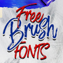 Post Thumbnail of 50+ Best Free Brush Fonts for Designers