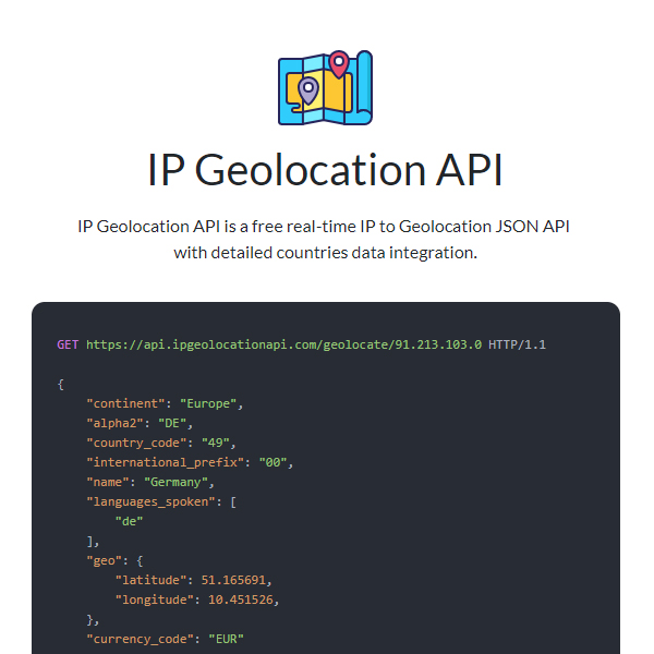 Find Geolocation of any IP Address in a Breeze with IP Geolocation API