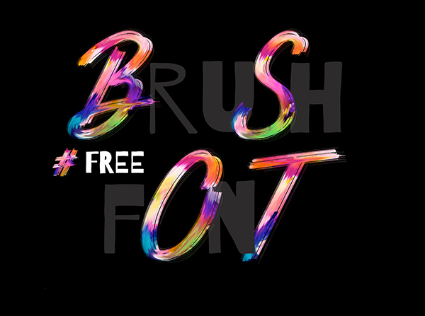 Brush Free Font - 50 Best Free Brush Fonts