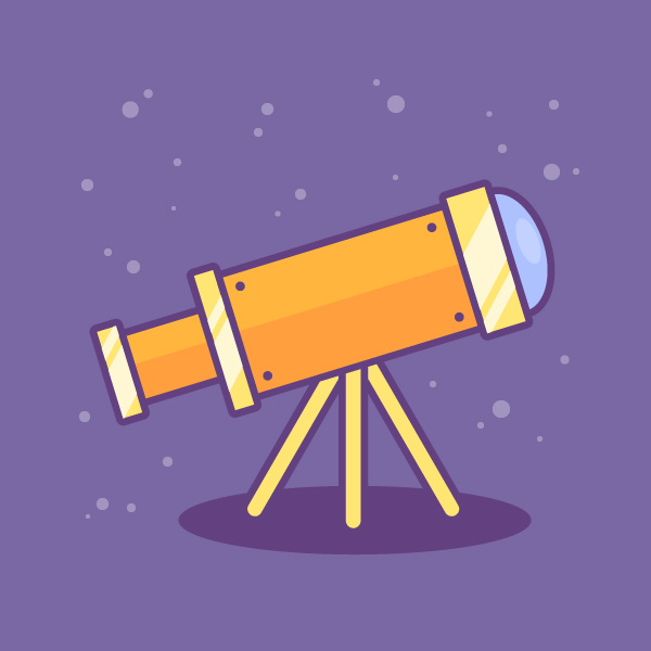 How to Create a Telescope Icon in Adobe Illustrator
